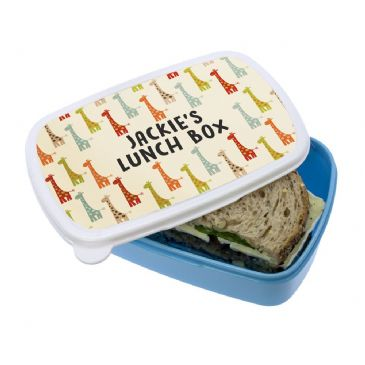Colourful Giraffe Pattern Lunch Box